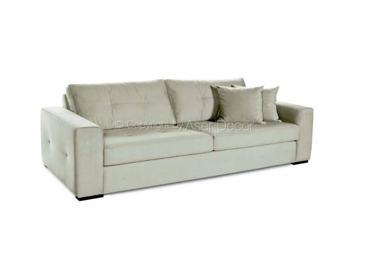 Sof cevenpri living linho preto 3 lugares branco sala de for Sala de estar off white