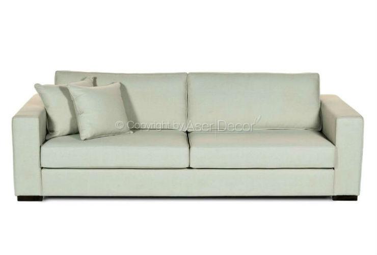 Sof deshewq living linho cinza 2 lugares sala de estar for Sala de estar off white