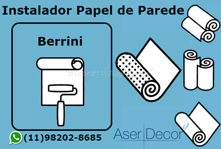 Aplicação Papel de Parede Berrini