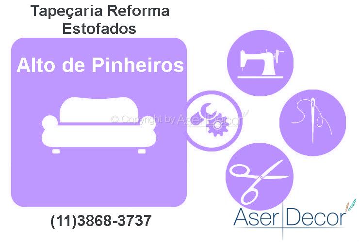 Reforma de Estofados Alto de Pinheiros Tapeçaria Alto Padrão