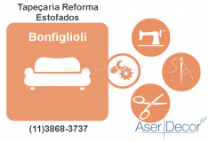 Reforma de Estofados Bonfiglioli Tapeçaria Alto Padrão